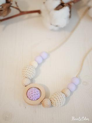Collier de portage - Violette