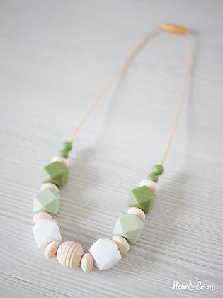 Collier de portage - Vert olive