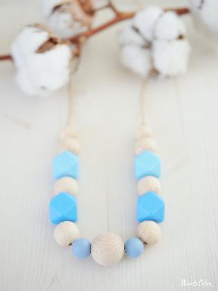 Collier de portage - Bleu tendre