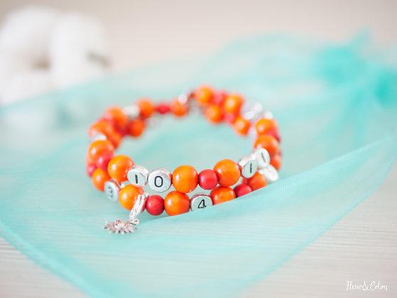 Bracelet d'allaitement - Henné
