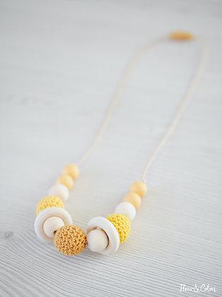 Collier de portage - Bouton d'Or