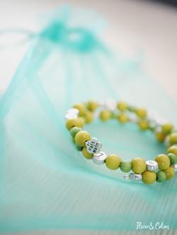 Bracelet d'allaitement vert5