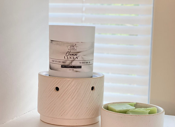 2 in 1 Ceramic Candle Dish and Warmer