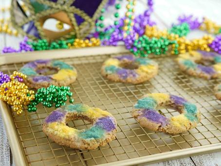 King Cake Cookies