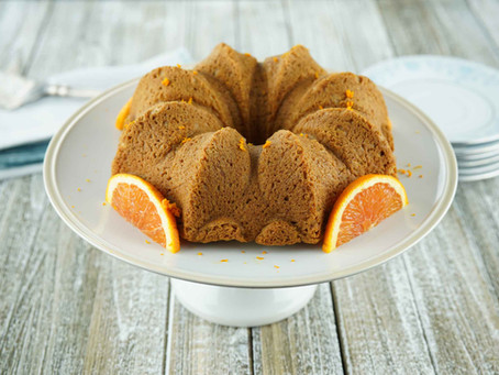 Citrus Pound Cake (Egg Free)