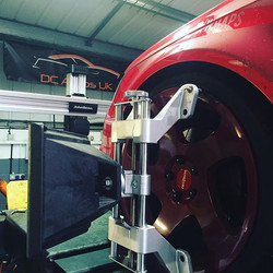 _mad_dp in for the top of the range 3D wheel alignment _dcautosuk #dcautosuk #empperformance #stalba