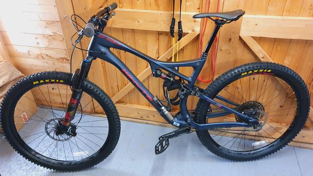 New bike setup with tubeless tyres