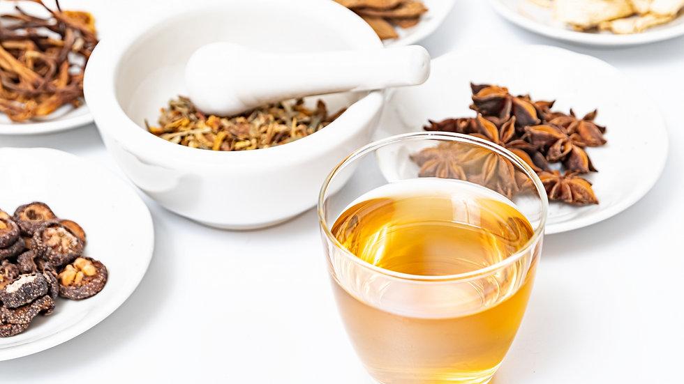 薬膳茶「木、火、土、金、水」5種セット
