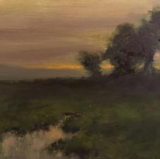 Quiet Evening - 6 x 8