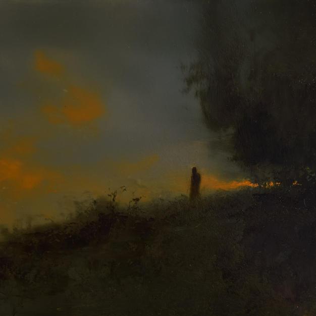 Broken Horizon - 12 x 16