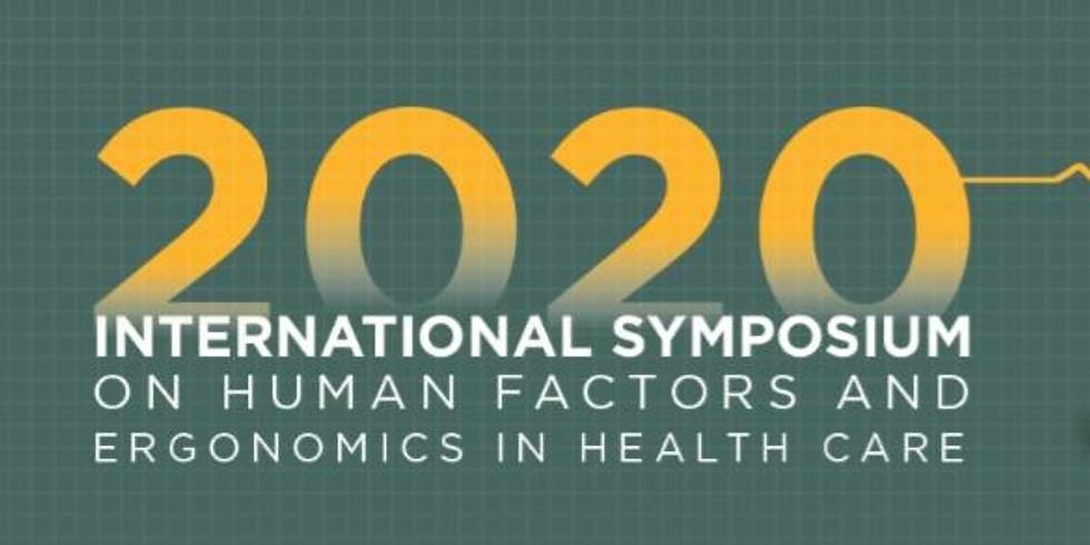 Virtual Human Factors and Ergonomics in Health Care Symposium