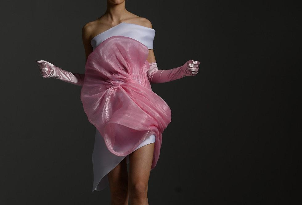 """Платье """"Розовое облако"""""""