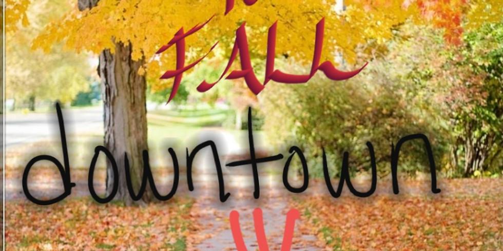 Countdown to Fall Downtown  Sidewalk Sale