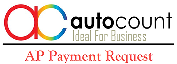 autocount dengan plug in AP payment request