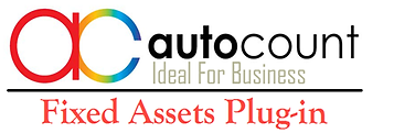 autocount dengan plug in fixed asset