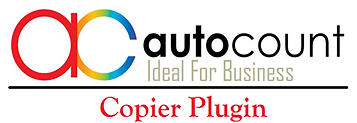 autocount plug in copier