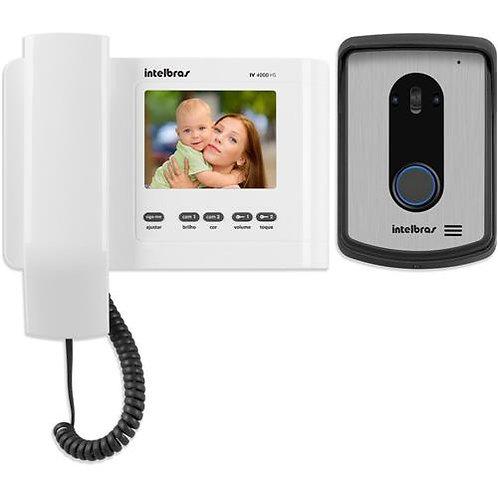 Vídeo Porteiro Intelbras IV4010 Hs com acesso remoto via linha telefônica
