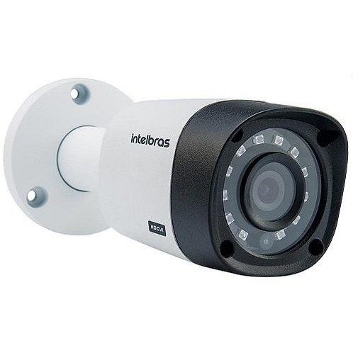 Câmera Bullet Infra Híbrida Intelbras Vm1120 G4 Analog Ahd