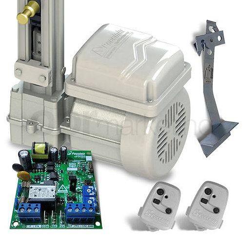 Kit Motor Portão Eletrônico Basculante 1/4 HP Gatter Peccinin 110/220v
