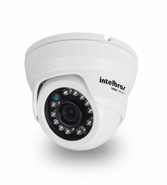Câmera Dome Intelbras 520 Linhas Vmd 1010