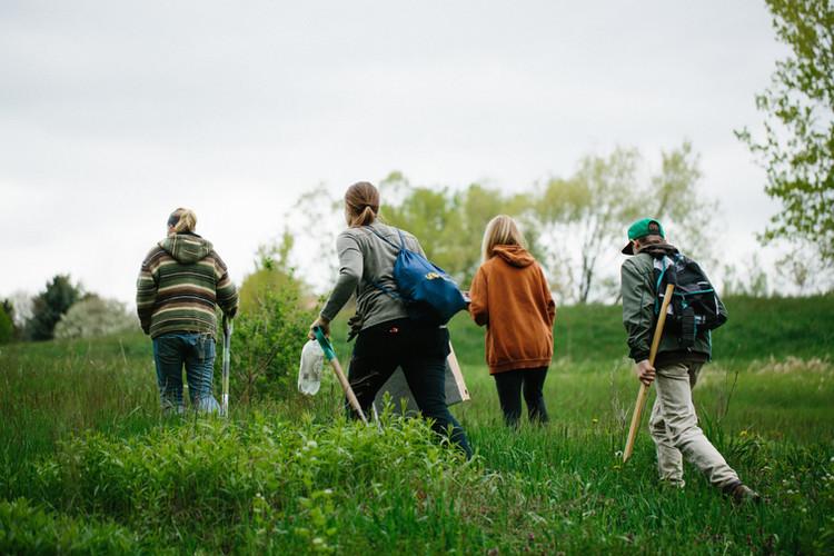 Sampling Soil & Water at Varying Contour Points