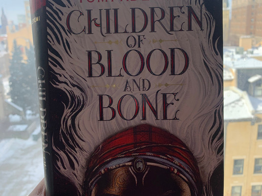 Book Rec: Children of Blood and Bone by Tomi Adeyemi