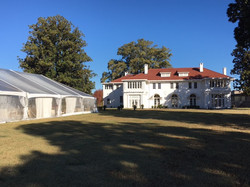 Tent on the Grand lawn of Cutrer