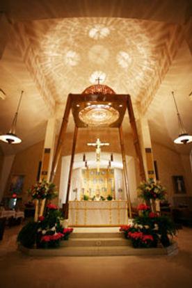 St. Bernadette Church, main altar