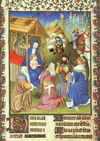 Van Limburg brothers Adoration of the Ma
