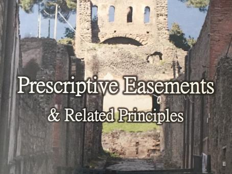 "Book Preview: ""Prescriptive Easements & Related Principles"""