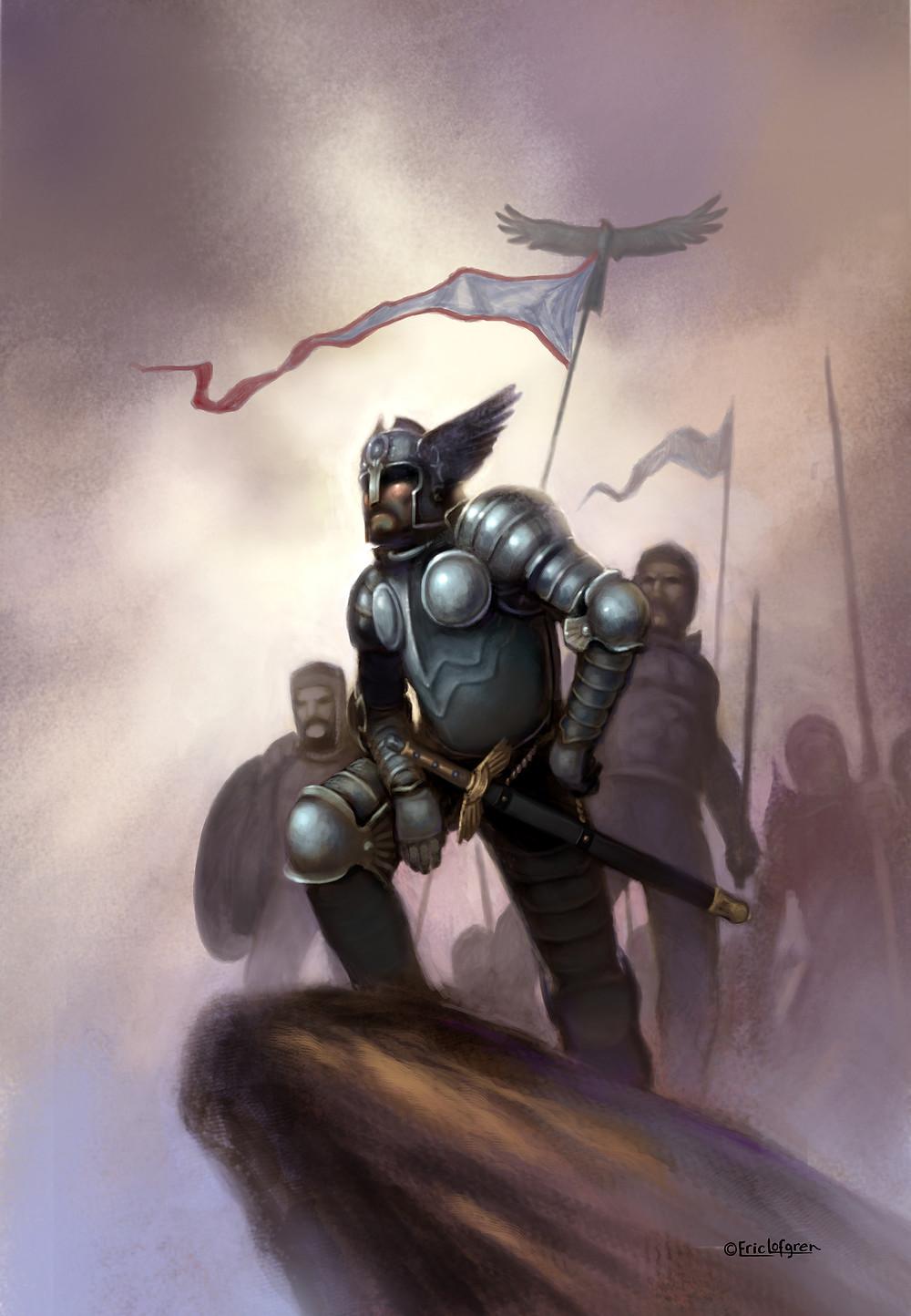 """The Warrior King"" by Eric Lofgren"