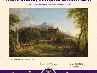 Monarchs, Minions & Mayhem! Limited Edition Pre Sale