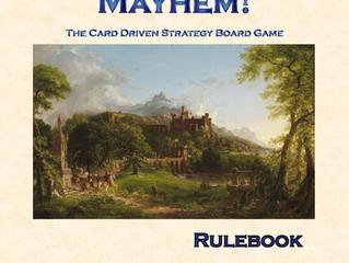 Monarchs, Minions & Mayhem! Rulebook Preview & Score Sheet PDF's