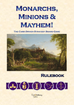 Monarchs, Minions & Mayhem! Rulebook Preview & Score Sheet PDF's