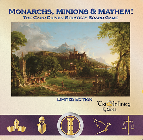 Monarchs, Minions & Mayhem! Limited Edition