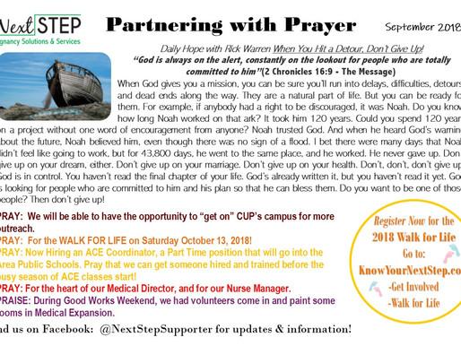 Sept Prayer Card