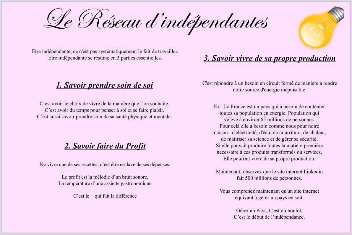 le_reseau_d'indépendantes