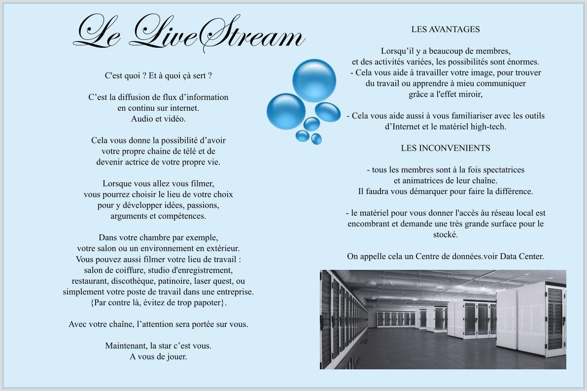 le livestream