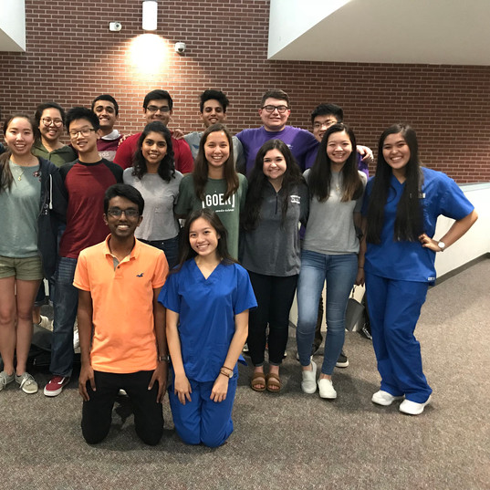 Klein High - First Tutoring Session