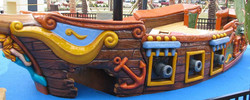 Pirate Ship #3 no Masts