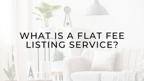 What is a Flat Fee Listing Service?