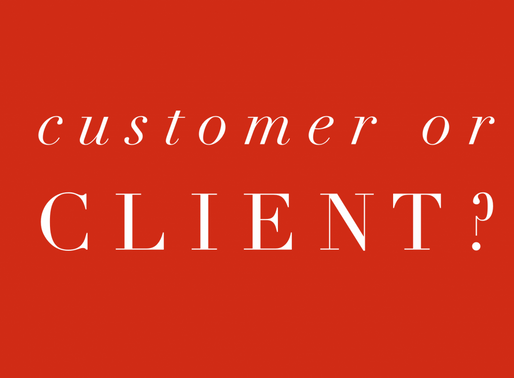 What's The Difference Between Being A Client Or A Customer In Real Estate