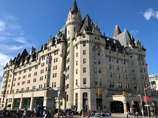 Chateau Laurier In Ottawa, Ontario