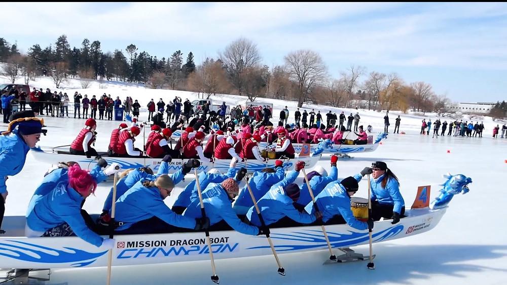tim hortons ice dragon boat festival - Ottawa