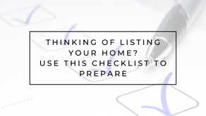 A Few Things To Consider Before You List Your Home