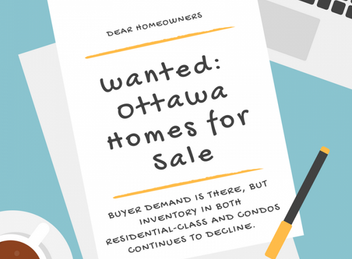 Wanted: Ottawa Homes for Sale