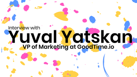 A conversation with Yuval Yatskan about Marketing for startups