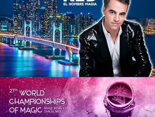 KED El Hombre Magia estará en la FISM Busán en Korea