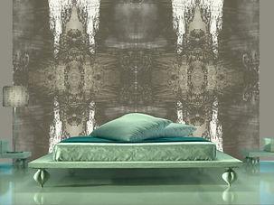 Schlafzimmer wie in Atlantis