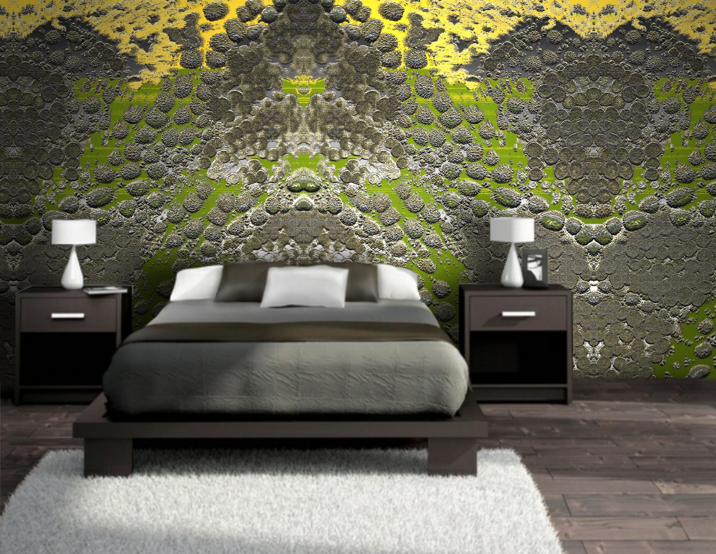 new tech kunst-tapeten design texture